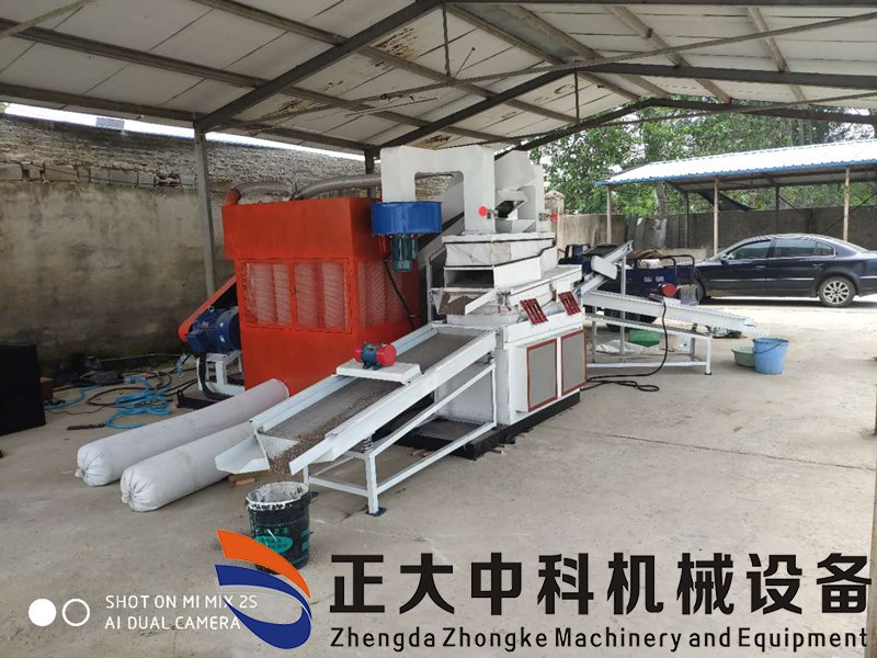 干式铜米机湖北荆州客户